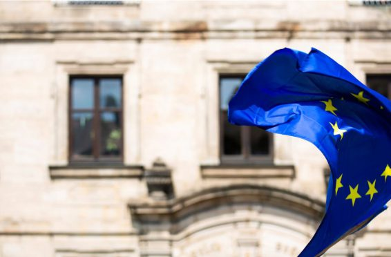 Europäische Fahne